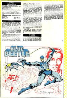 Escarabajo Azul Superheroe DC