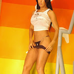 Andrea Rincon – Selena Spice – Sexy Top Blanco y Tanga Negra Foto 113