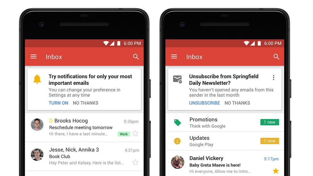 Gmail-smartphone