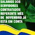 Prefeitura de Jaguarari realiza pagamento dos servidores contratados referente ao mês de novembro