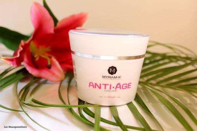 Masque capillaire anti-âge - Myriam K - Blog beauté Les Mousquetettes©