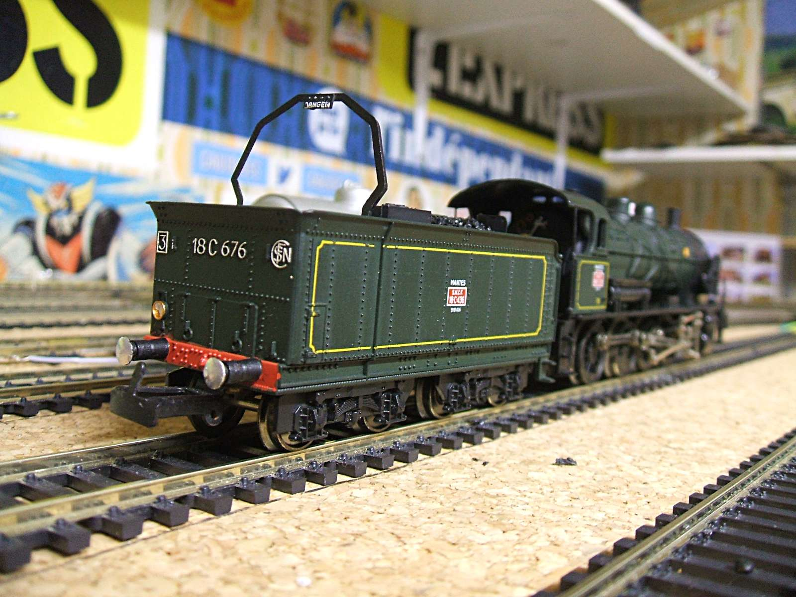 Fabrication Decor Train Ho Ebzy
