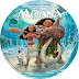 Label DVD Moana