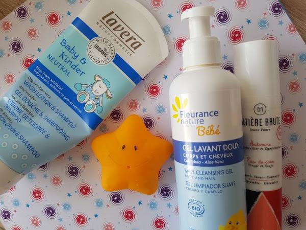 Mes produits de soin préférés pour bébé !