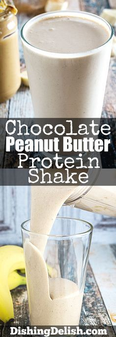 KETO,Chocolate Peanut Butter Protein Shake