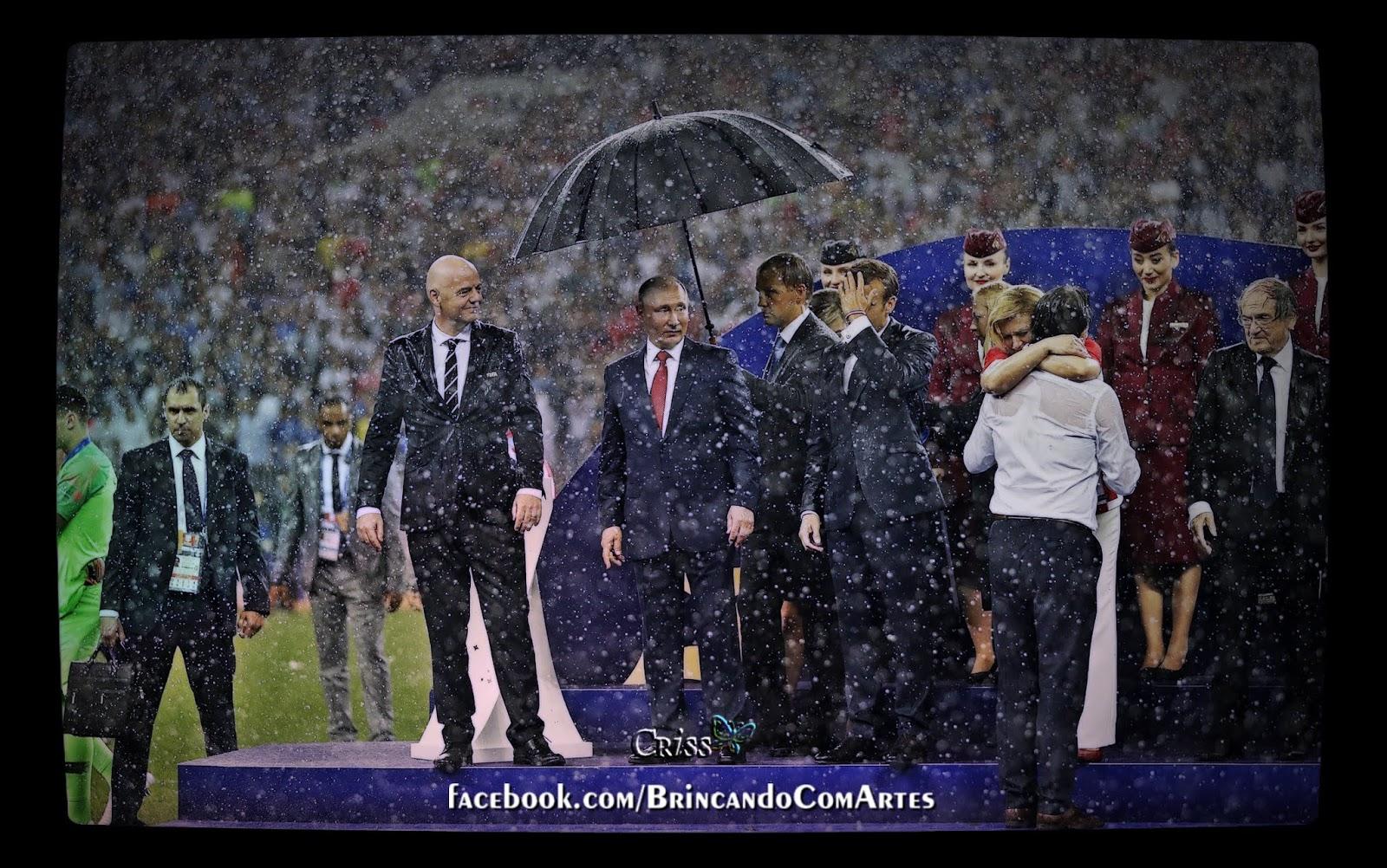 Presidente Vladimir Putin mal-educado
