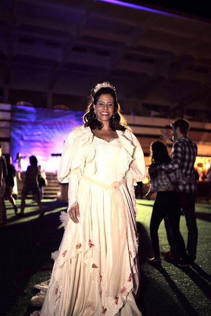 Fantasia Festa Junina, vestido noiva Narcisa Tamborideguy