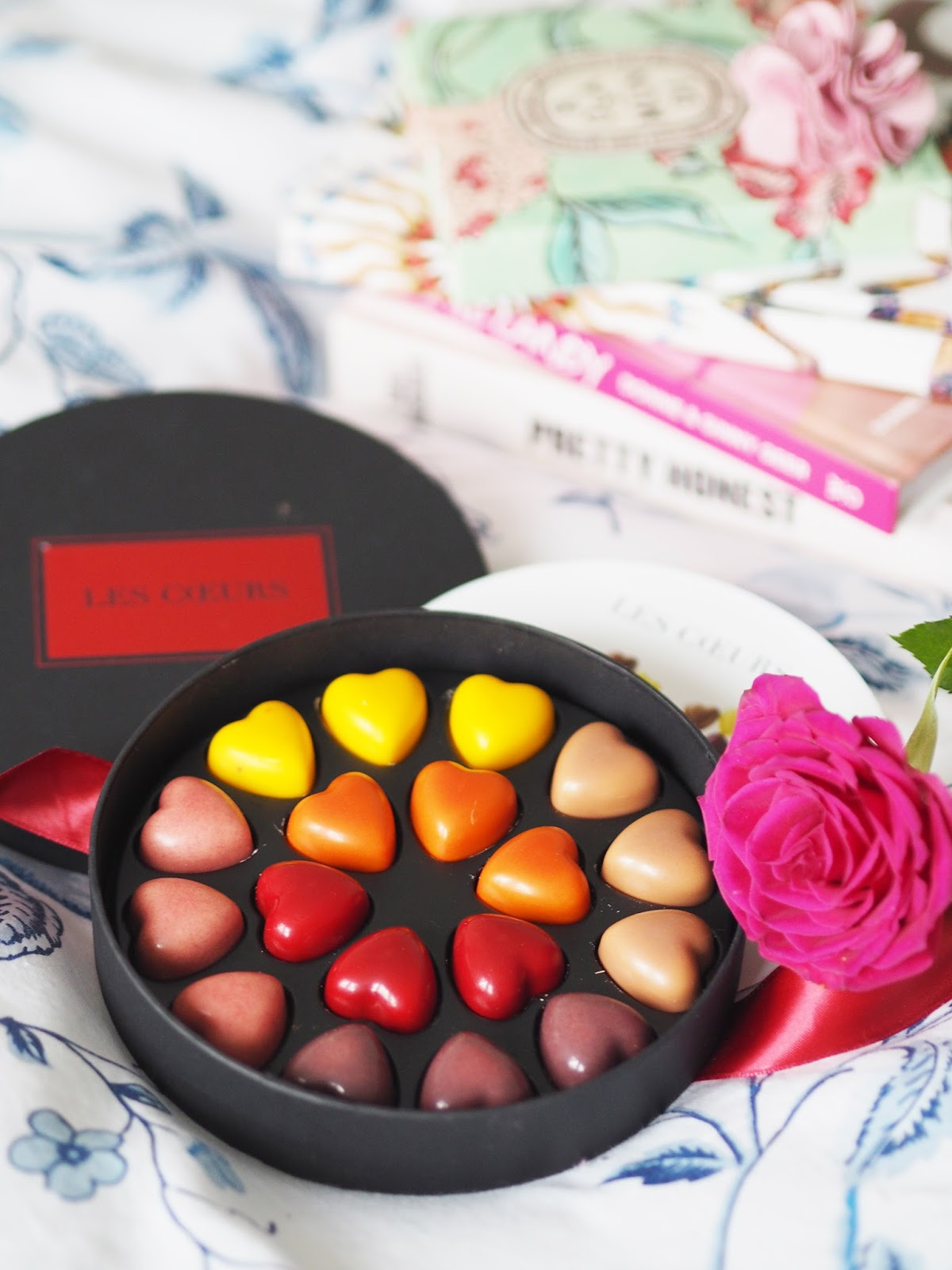 Pierre Marcolini hearts chocolates for Valentine's Day