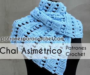 Teje una Hermosa Bufanda Baktus a Crochet / Tutorial