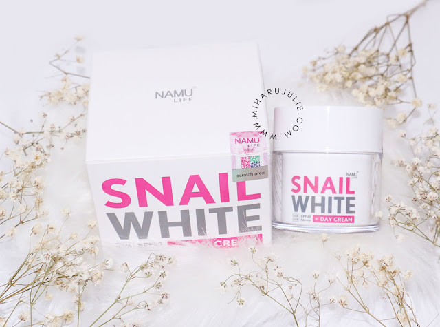 snail white day cream review