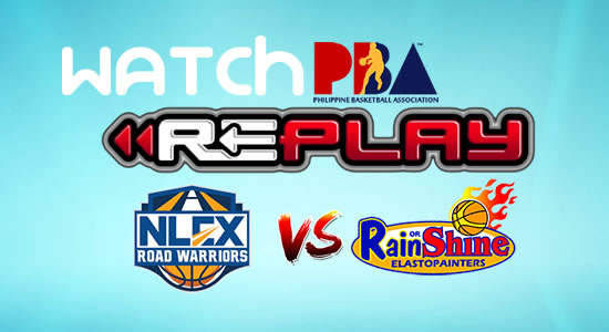Video List: ROS vs NLEX game replay January 26, 2018 PBA Philippine Cup