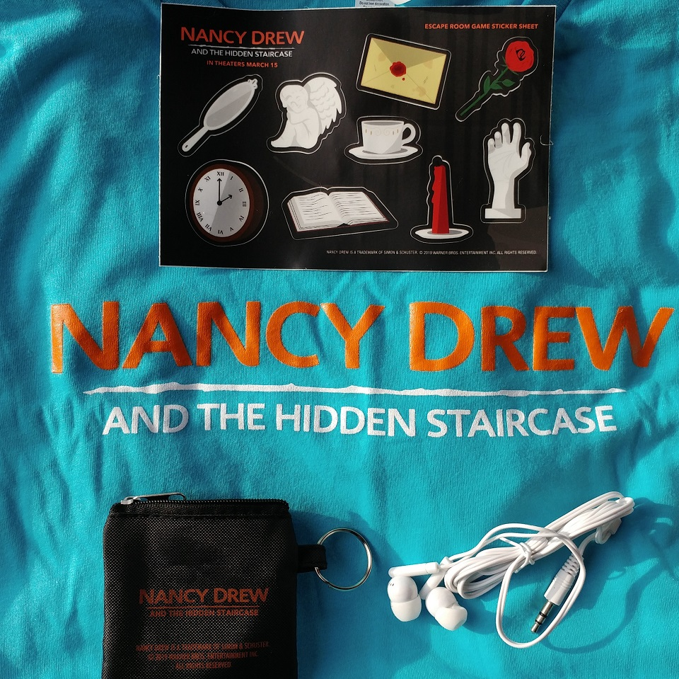 Win Nancy Drew and the Hidden Staircase Movie Swag - My WAHM