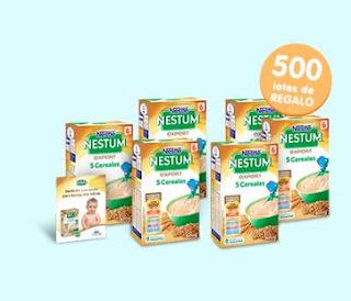 Prueba las papillas Nestlé Nestum 5 cereales