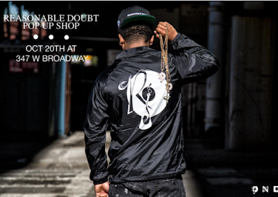 CosmoCool: Reasonable Doubt' 20th Anniversary Pop-Up Shop Hits NYC