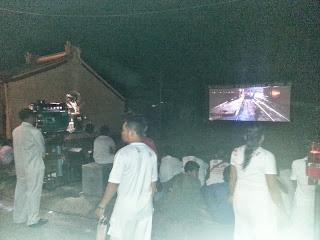 Phuket weather Blog - open air cinema