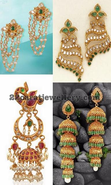 Trendy Jhumkas and Earrings From Nikitha Linga