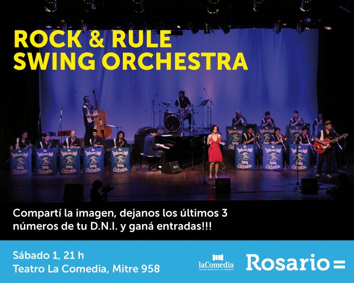 Gana entradas para The Rock and Rule Swing Orchesta