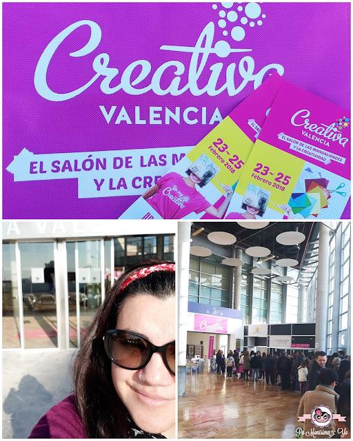 Creativa Valencia 2018 monerias en fieltro pamonisimayo