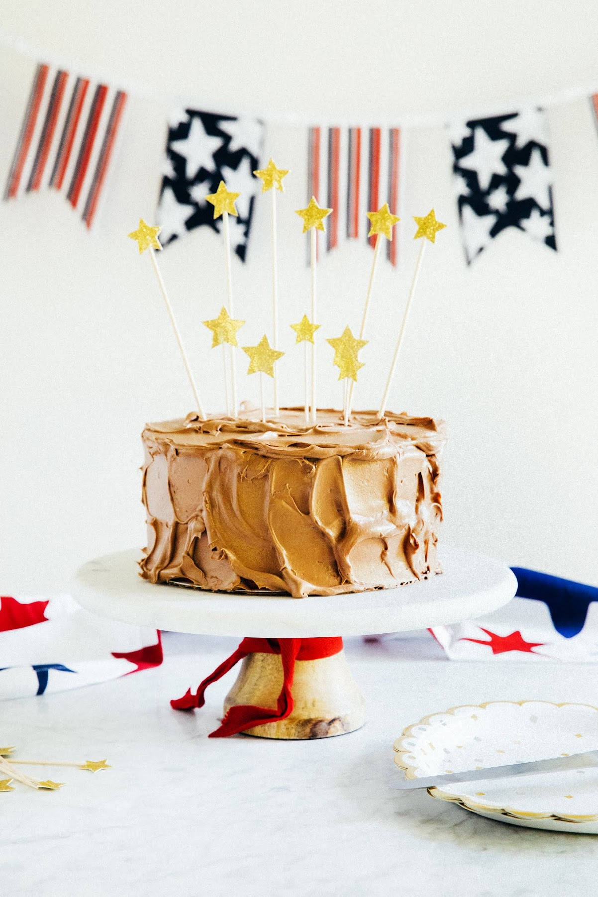 American Flag Cake Hummingbird High A Desserts And Baking Blog