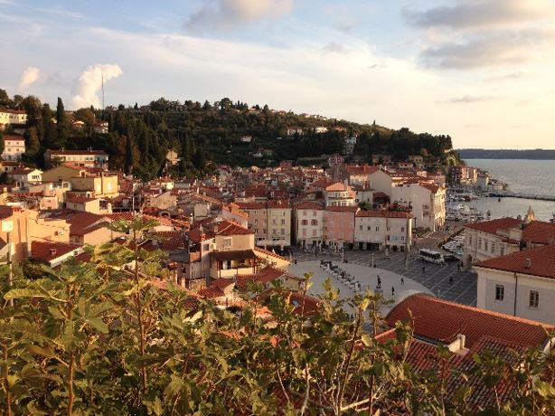 The Slovenian coastal town of Piran