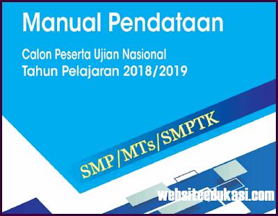 Manual Pendataan UN 2019 SD SMP SMA SMK