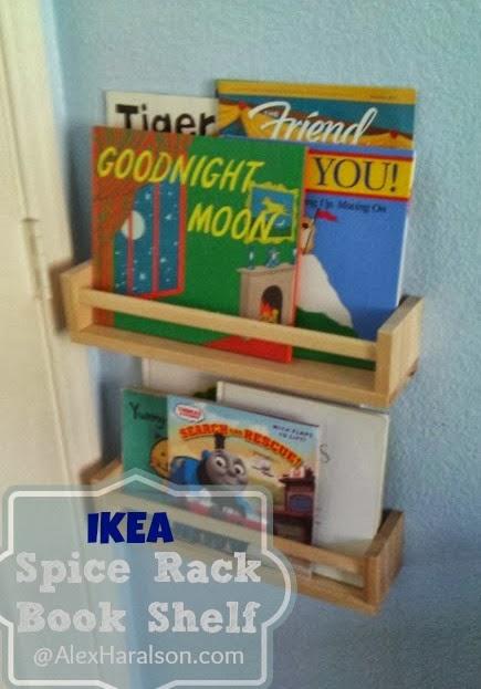 alex haralson spice rack book shelves