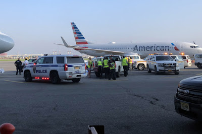 USA: Dead Faetus Discovered On American Airlines Flight 1942 At LaGuardia Airport