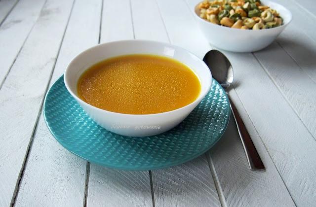 Rosoł inaczej - zupa krem z warzyw