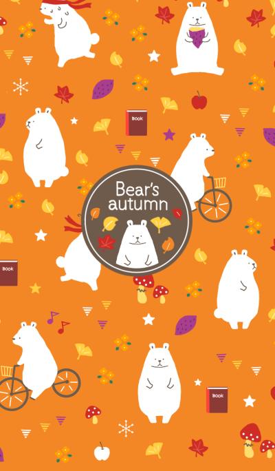 Bear's autumn