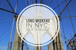Long Weekend in NYC: Bex's Guide
