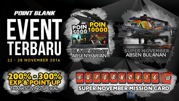 Event PB Garena 21 November 2016 - Black Friday