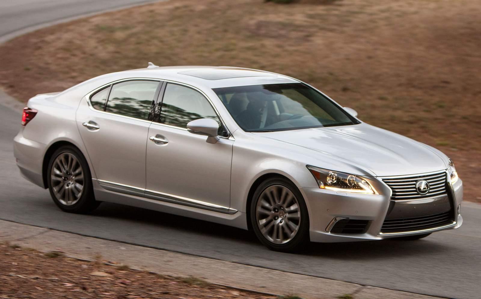 Lexus LS - eleito o pior sedã de luxo da Europa