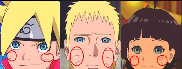 Why Mustaches Boruto and Himawari satellites only two?