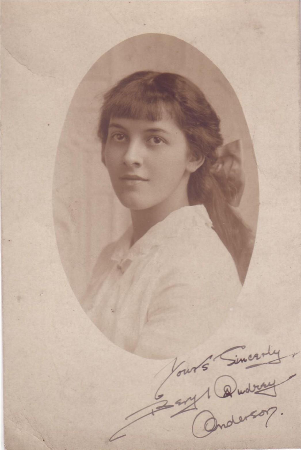 Audrey J. Anderson