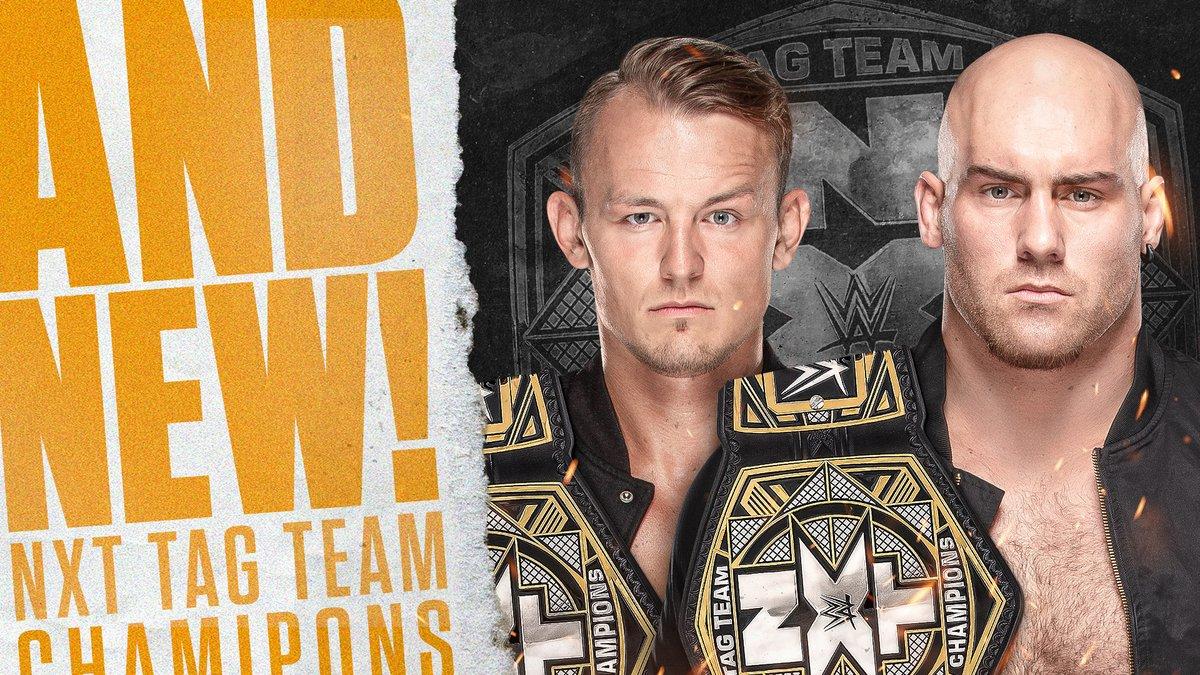 The Imperium conquistam o NXT Tag Team Championship