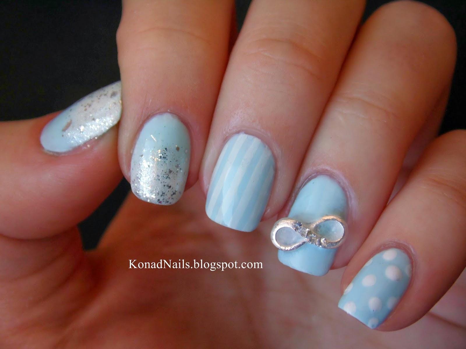 Konad Addict: Infinity nails