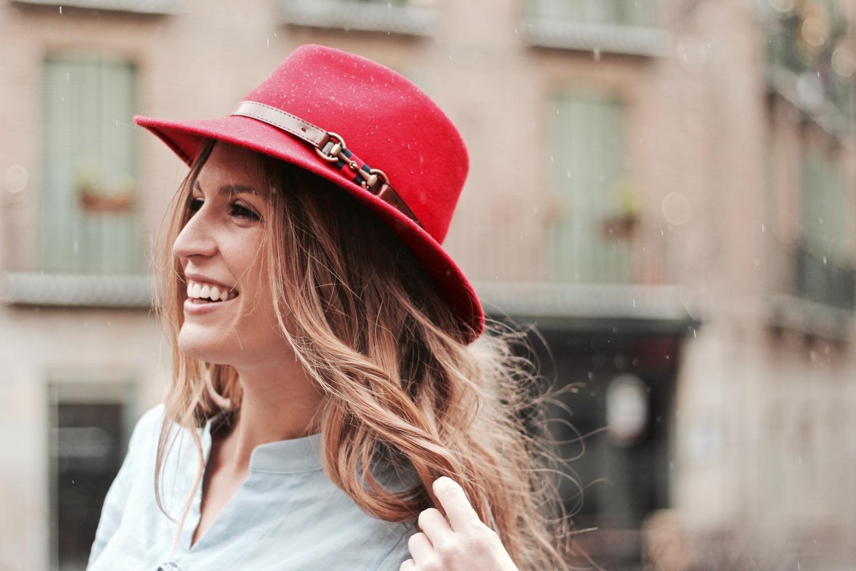 sombrero impermeable
