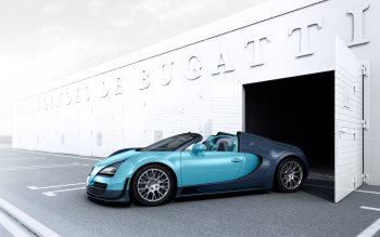 Wallpaper: Bugatti Veyron Jean-Pierre Wimille Edition