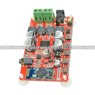 2 X 25W TDA7492P Bluetooth 4.0 Audio Digital Power Amplifier Board AUX Interface