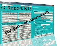 Download Free Aplikasi/Software Raport Kurikulum 2013 Untuk SD/MI, SMP/MTs, SMA/MA