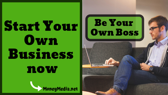 Start your own business with less money