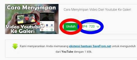 Save Video Youtube Ke Memori Hp Tanpa Aplikasi