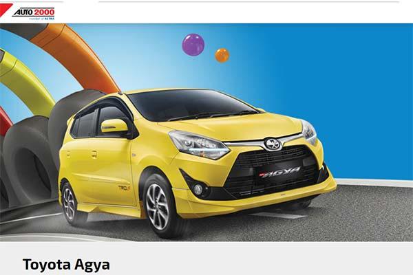 Toyota Agya Mobilnya Anak Muda Jakarta