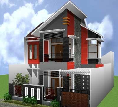 55 Desain Terbaik Rumah Minimalis 2 Lantai Rumahku Unik