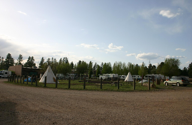Camper Village no Tusayan