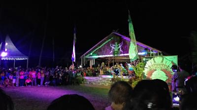 Festival Muanggau dan Lomba Turuk Langgai di Pesona Mentawai