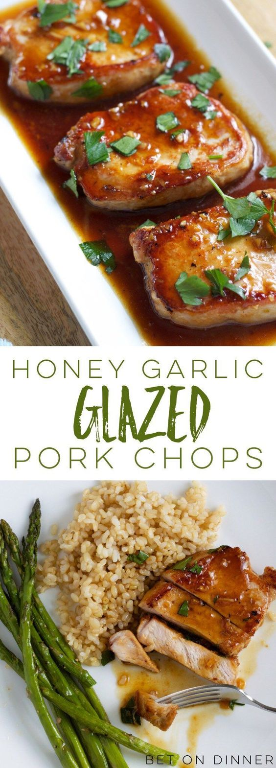 Recipe – Honey Garlic Pork Chops #honey #garlic #pork #chops #dinner #dinnerrecipes #dinnerideas