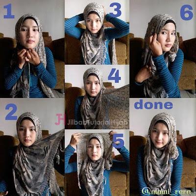 tutorial hijab pashmina untuk pergi ke kantor Tutorial Hijab Pashmina untuk ke Kantor