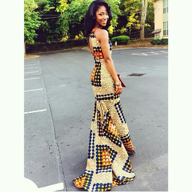 Ankara Dresses Styles For Dinner Long Evening Wears You Can Rock