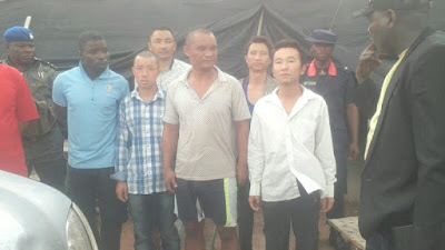 Nigeria releases eight Chinese citizens held for illegal mining